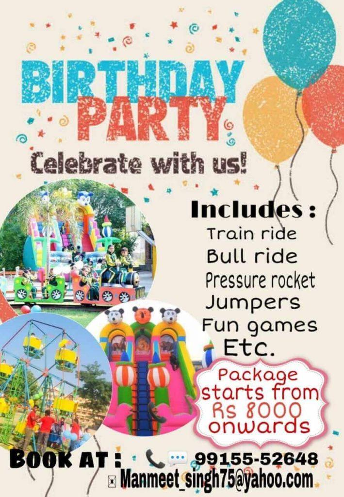 Birthday Party Planner in ludhiana