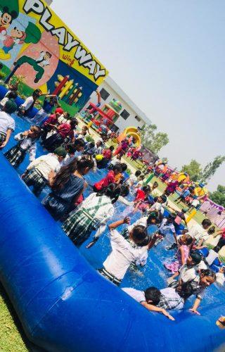 pool party in punjab school